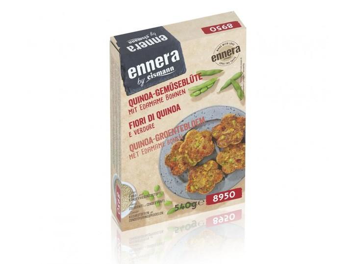 Quinoa-Gemüseblüte mit Edamame Bohnen
