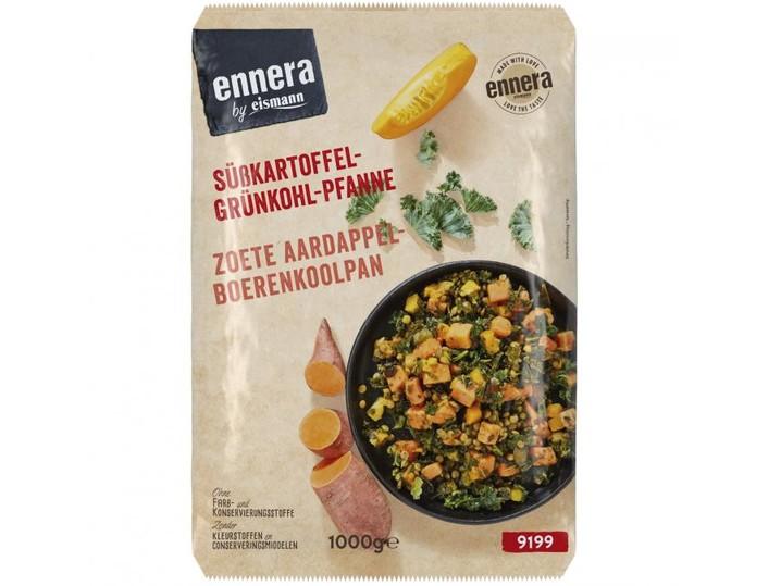 Süßkartoffel-Grünkohl-Pfanne
